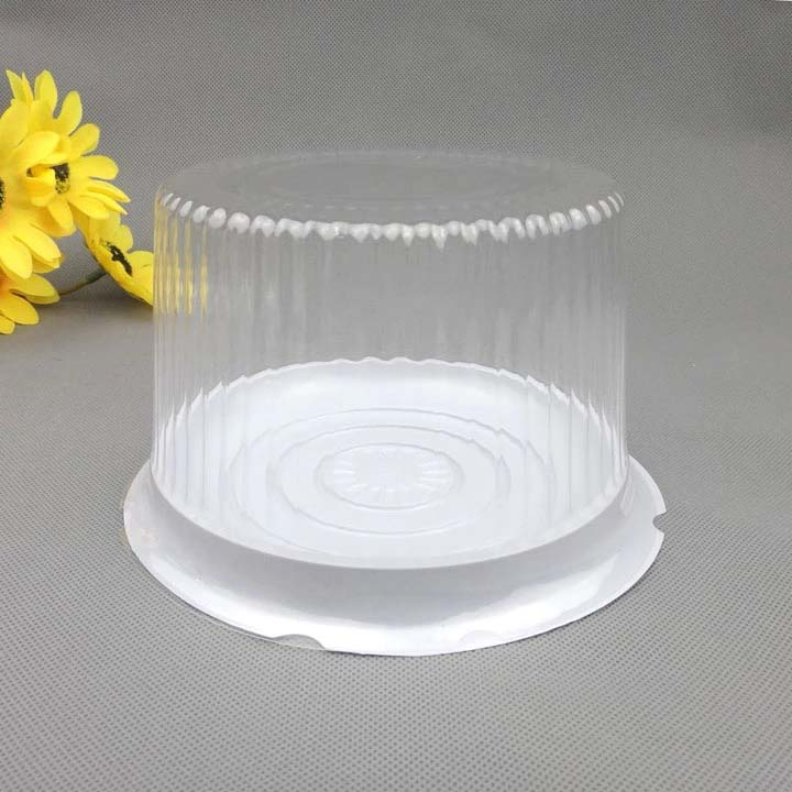 Clear dome lid wedding cake box container
