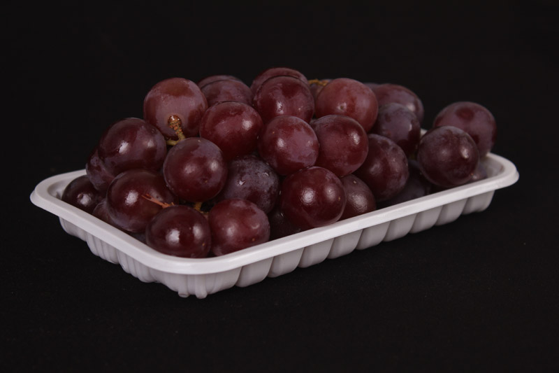 fruit plastic packing trays